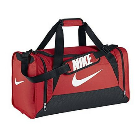 Nike Brasilia 6 Gym Training Duffel Bag Light Crimson