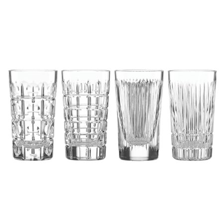 Reed & Barton, Thomas O'Brien New Vintage HiBall Glasses set of 4 873528 ()