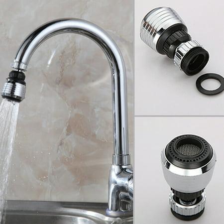 Faucet Filter Tip 360 Degree Rotating Kitchen Anti splash Faucet Spray