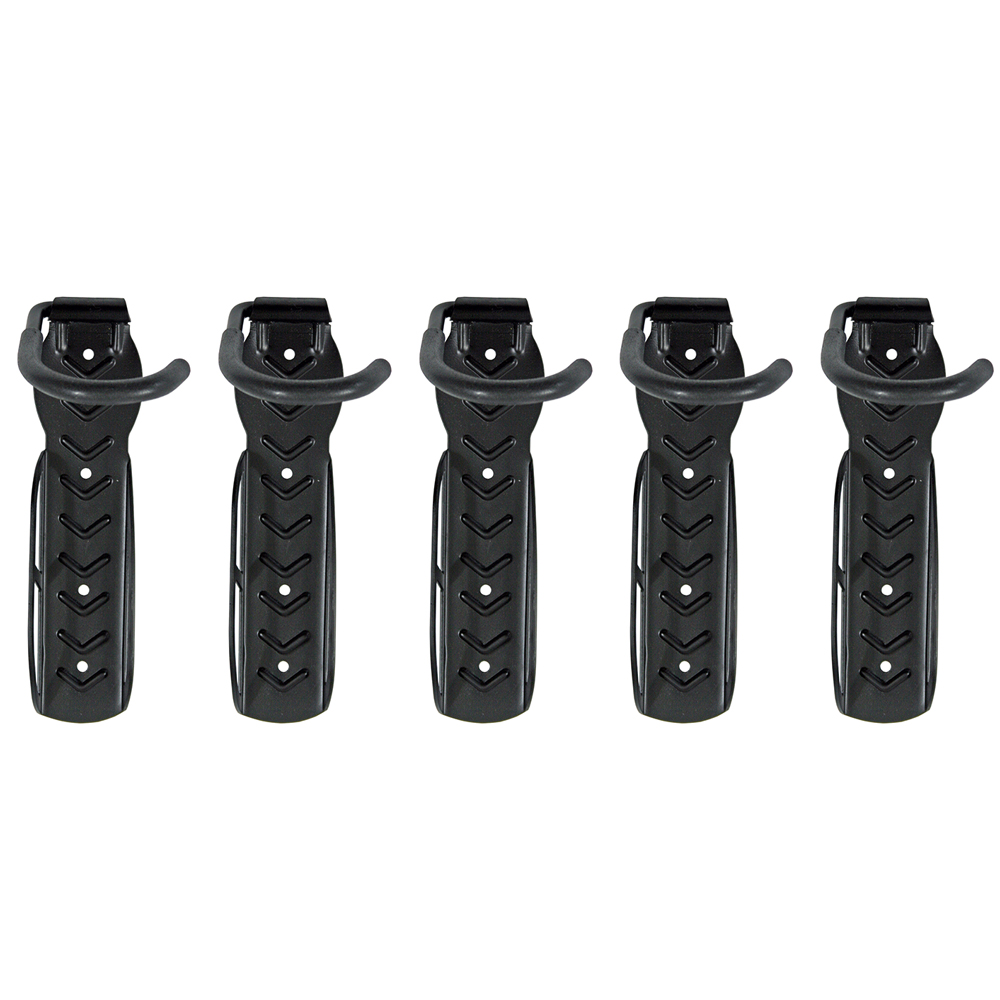 Wall Stud Mount Bicycle Storage Hook 5-Pack