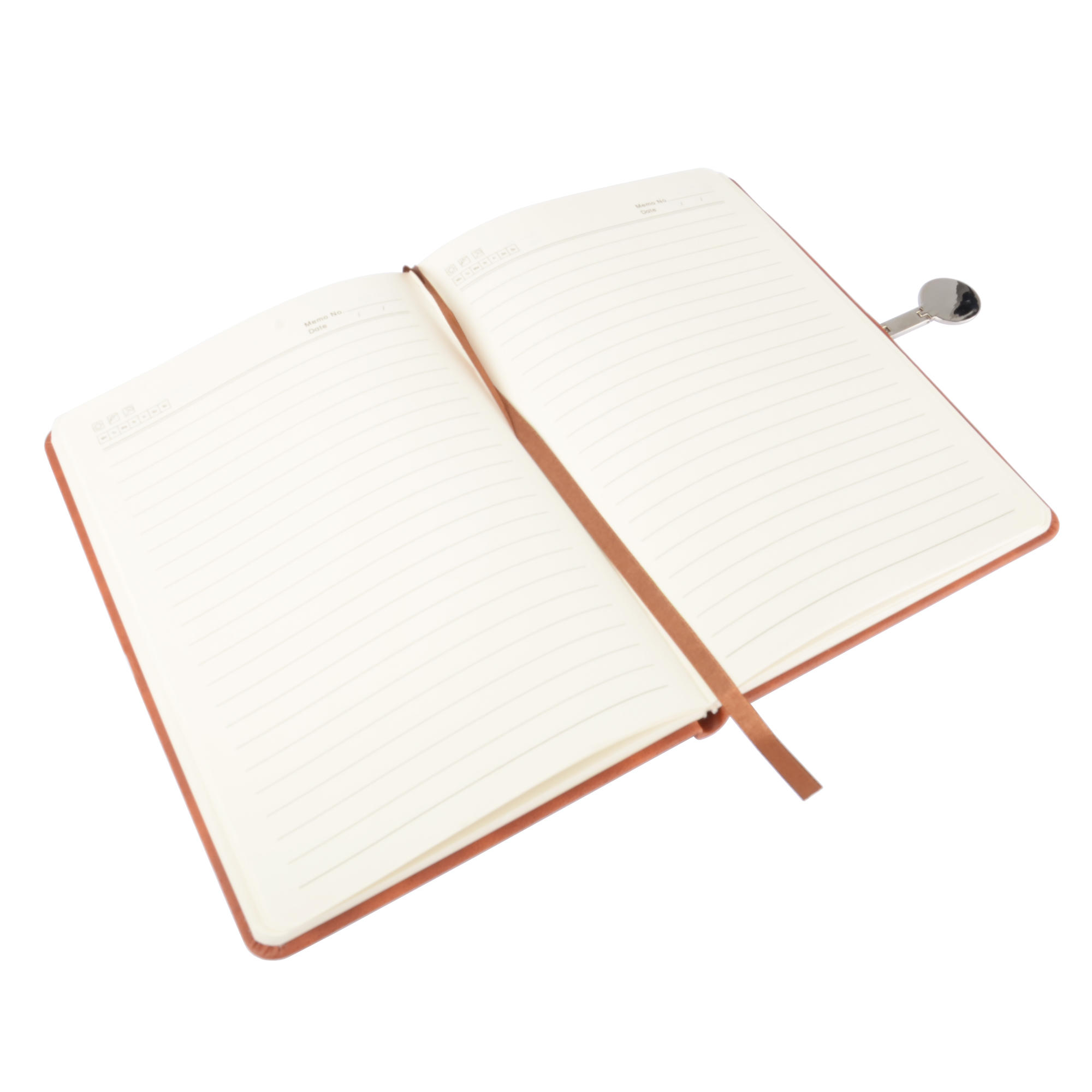 Moustache Color Pu Notebook With Magnetic Buckle 96 Sheets A5