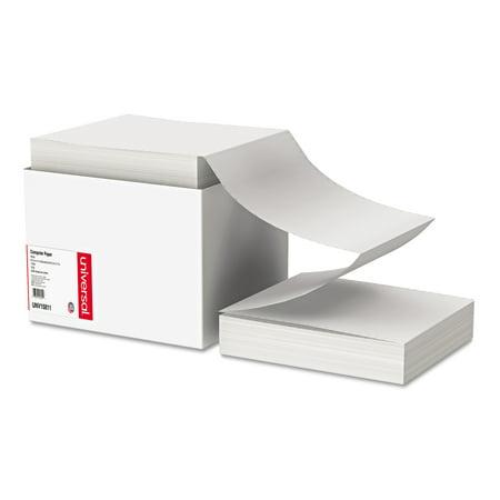 Universal Computer Paper, 18lb, 9-1/2 x 11, Letter Trim Perforations, White, 2300 Sheets (Letter Trim Perforations)
