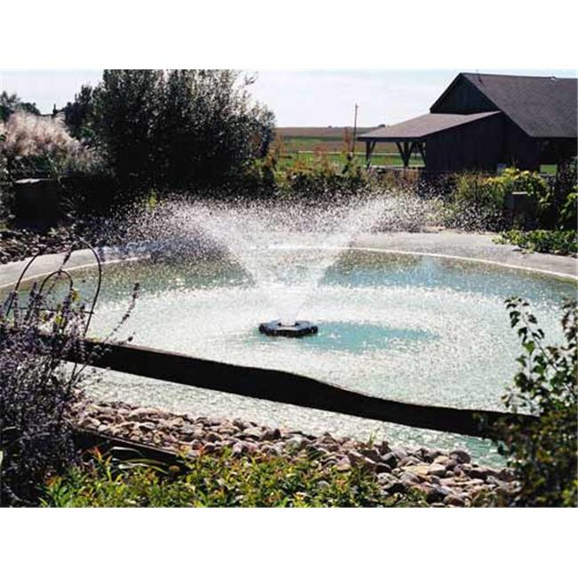 5 patterns /& Lighting Kit Included Kasco Marine Fountain with LED LIGHTS 3//4 HP w//150ft Cord