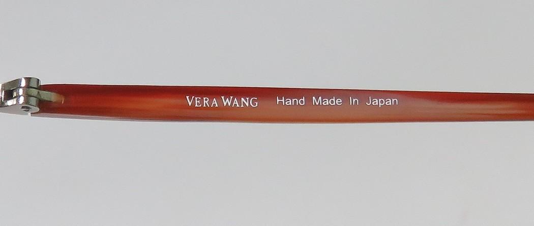 d7a3cae0bc4 New Vera Wang V137 Womens Ladies Designer Full-Rim Black   Mink Hand Made  In Japan Hip Durable Frame Demo Lenses 49-17-140 Eyeglasses Eye Glasses -  Walmart. ...
