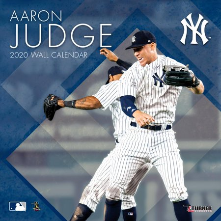 New York Yankees Aaron Judge: 2020 12x12 Player Wall Calendar (Other) (Aaron Irvin)