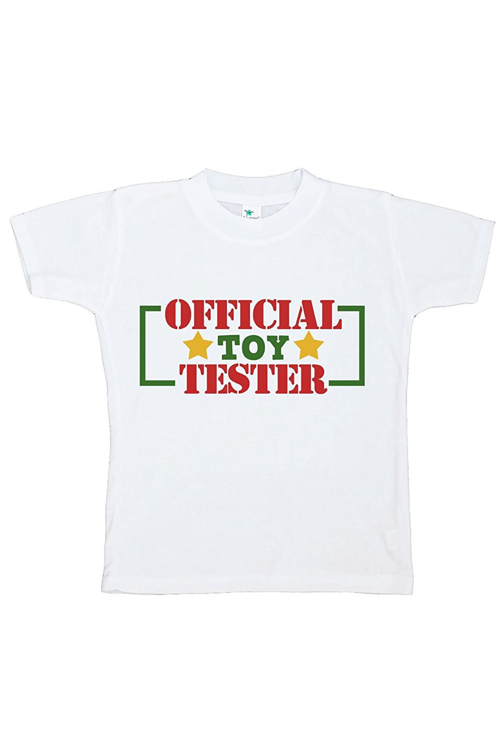 Custom Party Shop Youth Toy Tester Christmas T-shirt - Small (6-8) T-shirt