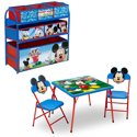 Disney Mickey Mouse 4-Piece Toddler Playroom Furniture Set