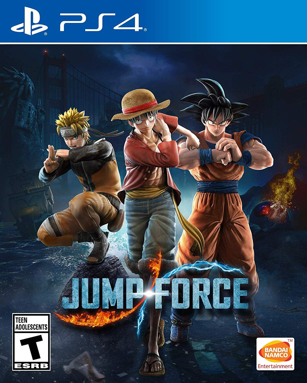 Jump Force, Bandai Namco, PlayStation 4, 722674121743