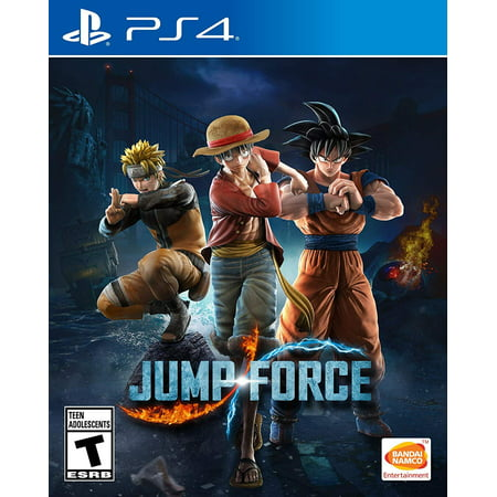 Jump Force, Bandai Namco, PlayStation 4,