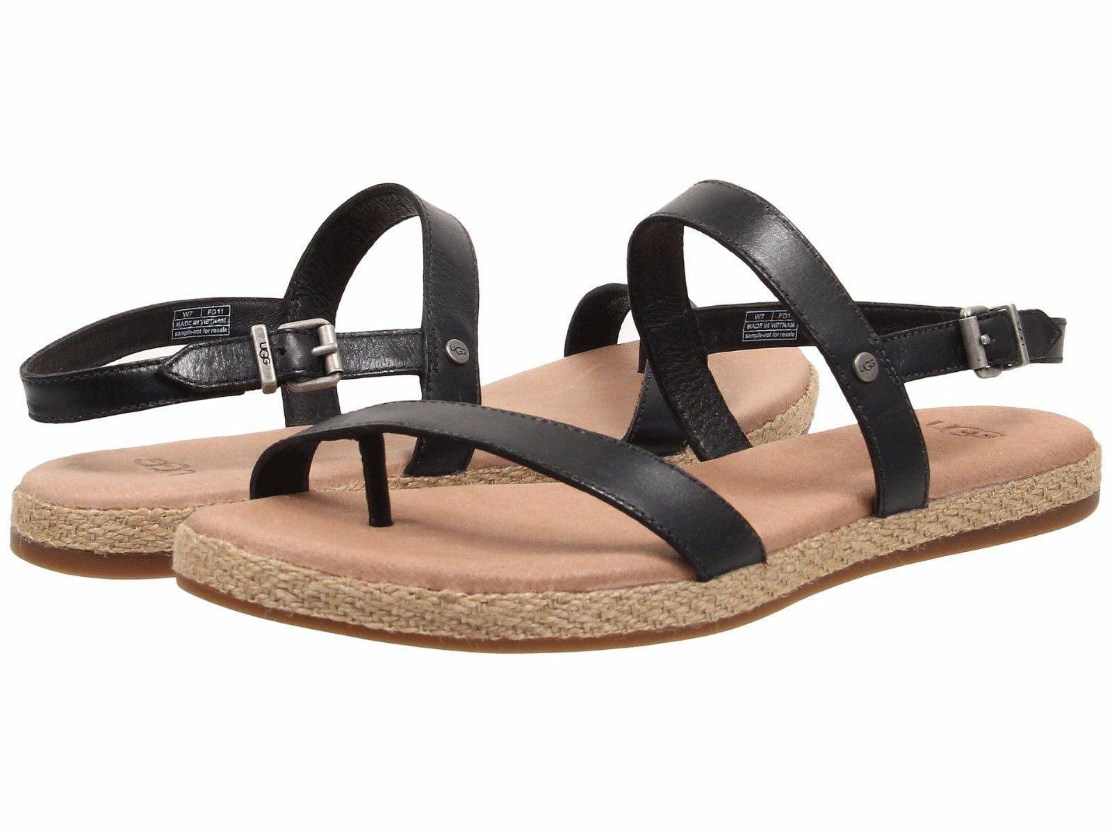 Ugg Women S Brylee Single Strap Leather Slingback Sandal
