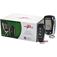 New Prestige APS997E 2-Way LCD Remote Start & Car Alarm System Replaces