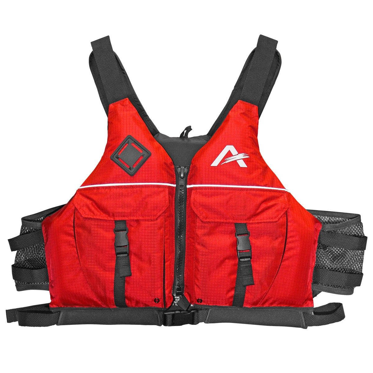 Airhead Deluxe Paddlesports Life Vest Red