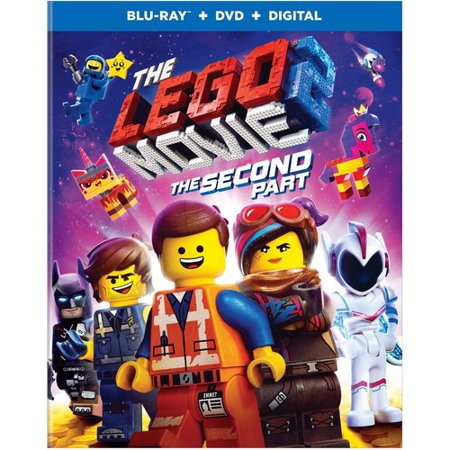 The LEGO Movie 2: The Second Part (Blu-ray + DVD + Digital Copy)