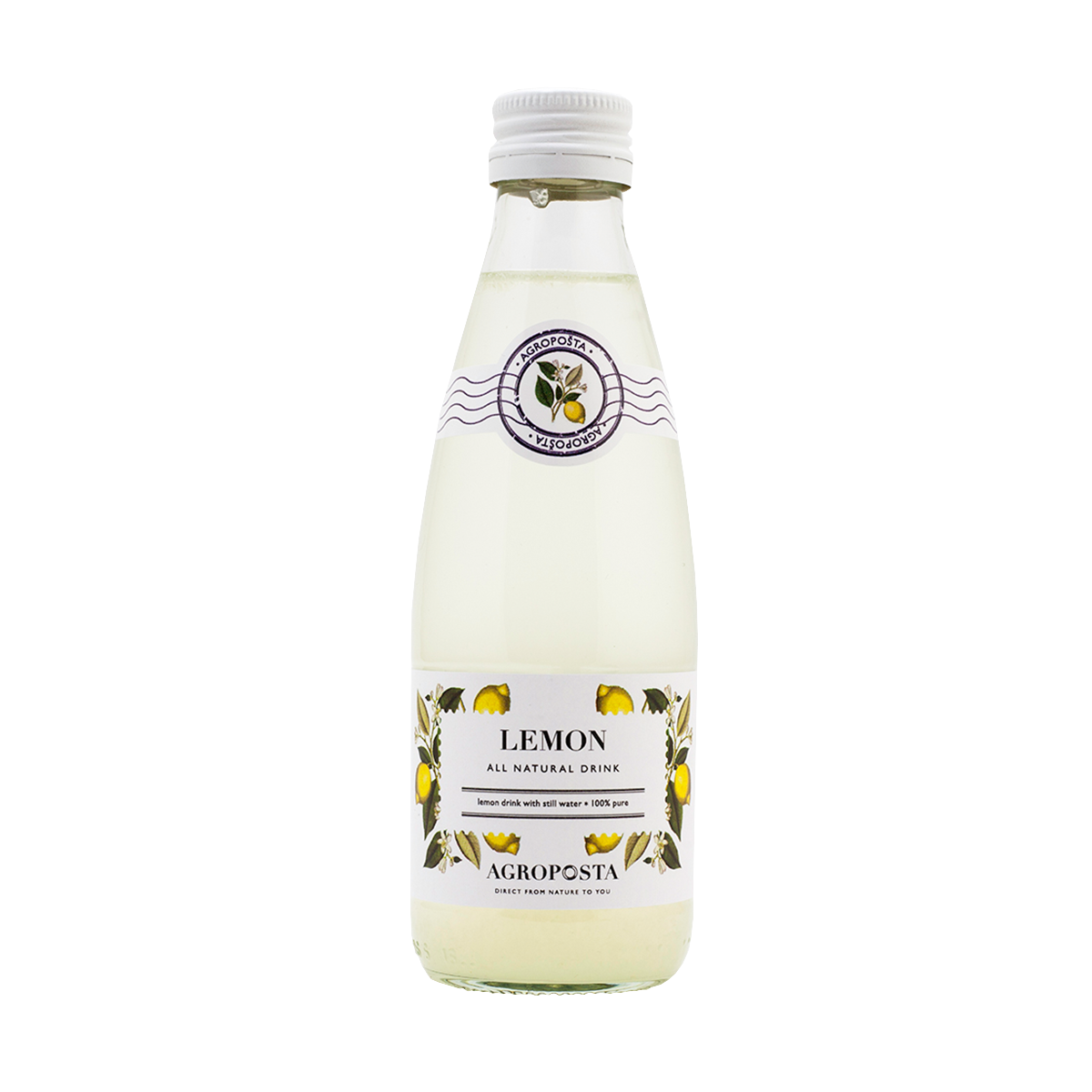 Image of AgropoÅ!ta: 100% Pure, All-Natural, Guilt-Free Drinks, Flavored Water, Lemon