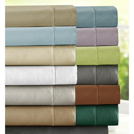 1000 Thread Count Luxury Egyptian Cotton Rich Sateen Sheet Set, 4pc (250 Sheet Duplexer)