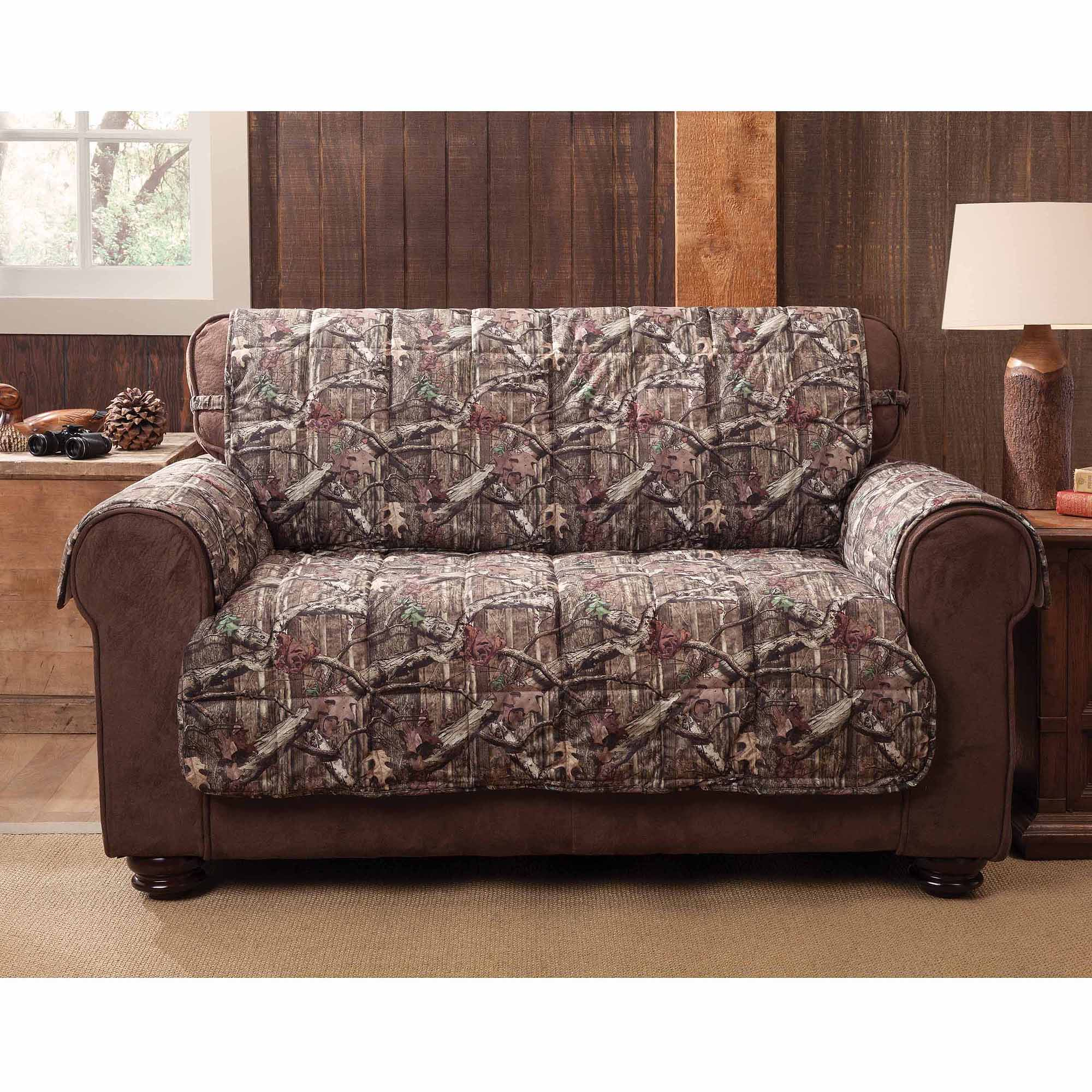 Marvelous Mossy Oak Break Up Infinity Sofa Protector   Walmart.com