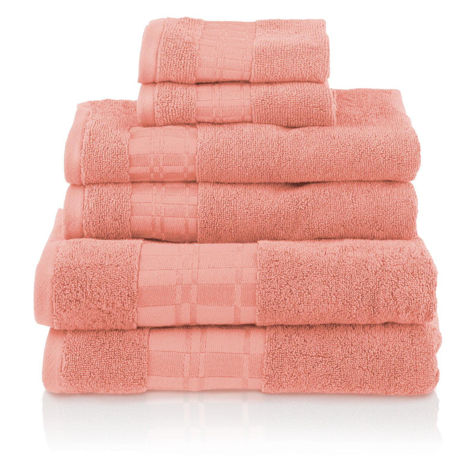 Impressions Luxury Larissa 6 Piece Towel Set