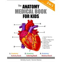 The Anatomy Medical Book For Kids (Paperback)