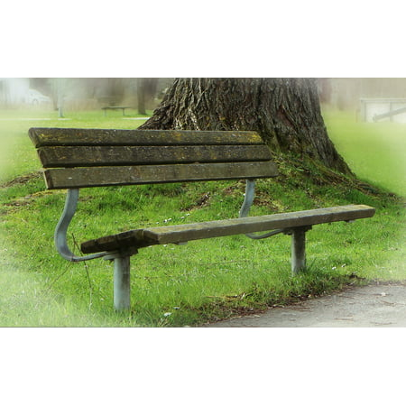 Astounding Laminated Poster Bank Seat Recovery Park Bench Rest Poster Print 11 X 17 Gamerscity Chair Design For Home Gamerscityorg