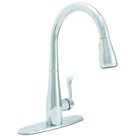 Premier Sanibel Single Handle Pull Down Kitchen Faucet Chrome Finish