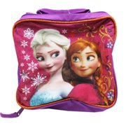 Disney's Frozen Anna and Elsa Violet Colored Small Size Kids Lunch Bag