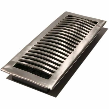 Aluminum Register (Decor Grates Louvered Aluminum Register, 4