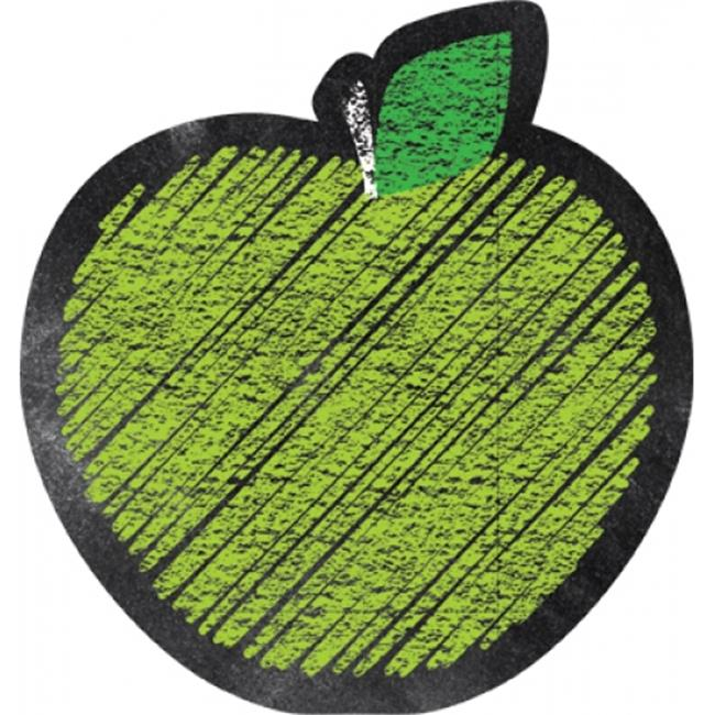 Chalk It Up Apples 6 in. Designer Cut-Outs