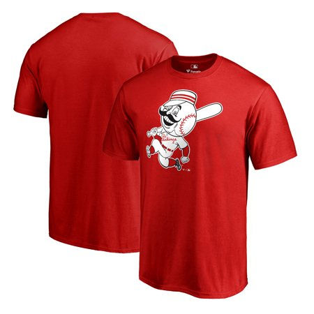 Cincinnati Reds Fanatics Branded Cooperstown Collection Huntington T-Shirt - Red