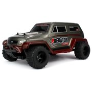 Velocity Toys Off Road Predator SUV Remote Control RC Truck, High Performance Lithium Battery, Big Size 1:10 Scale w/ Working Spring Suspension