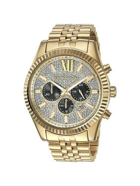 986dbfb918eb Product Image Men s Gold-Tone Lexington Chronograph Watch MK8494. Michael  Kors