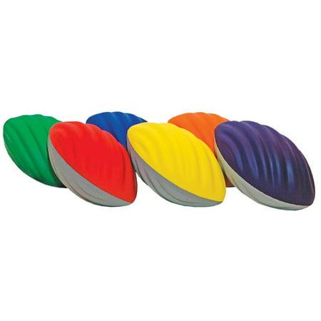 Spiral Foam Football Set of 6