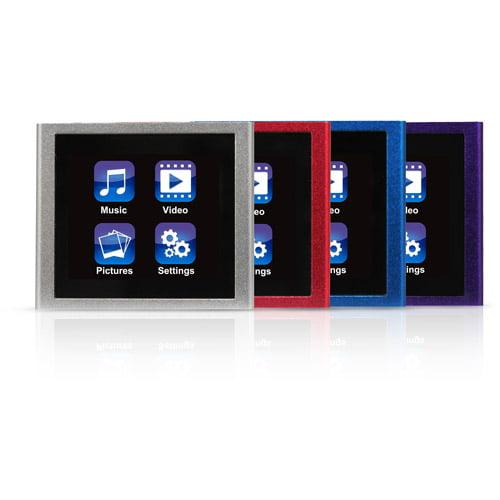 "Eclipse V180 8GB 1.8"" LCD Mini Compact MP3 MP4 Digital Music/Video Player-Purple"