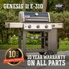 Weber Genesis II E-310 LP Black
