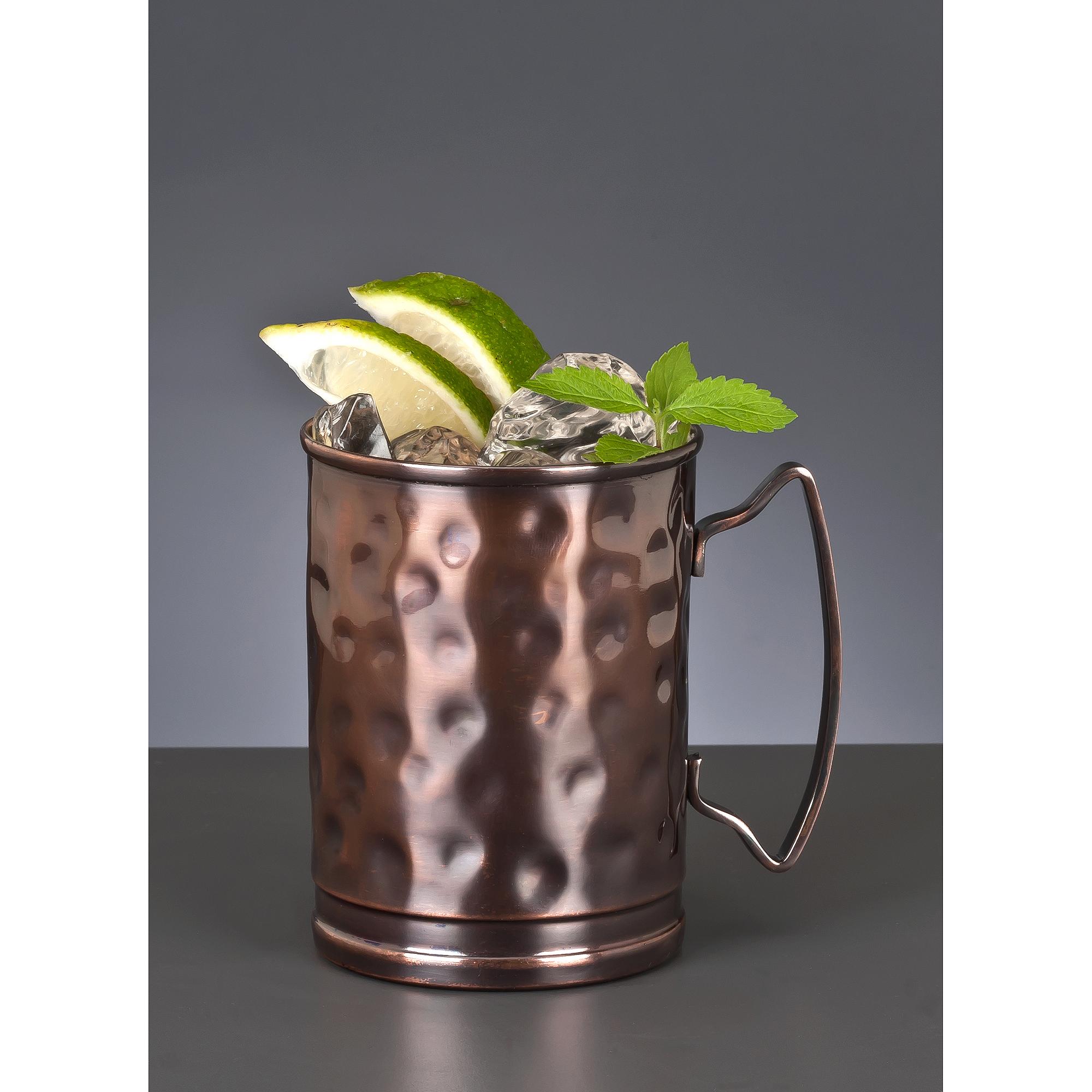 Libbey Moscow Mule Mug 2-Piece Set, Bronze