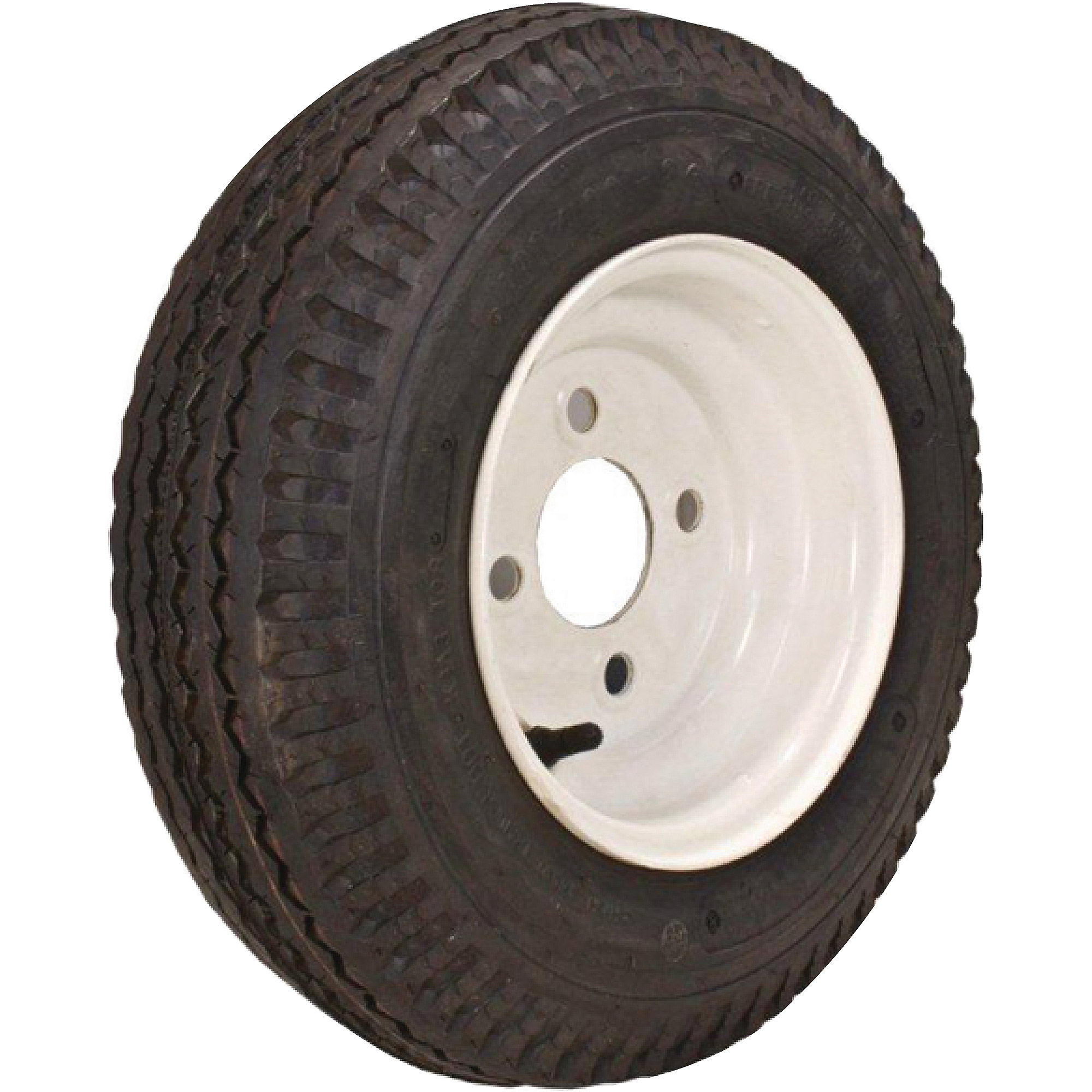Loadstar Bias Tire and Wheel (Rim) Assembly 480/400-8 4 Hole