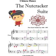 Chinese Dance the Nutcracker Suite Beginner Piano Sheet Music with Colored Notes - eBook