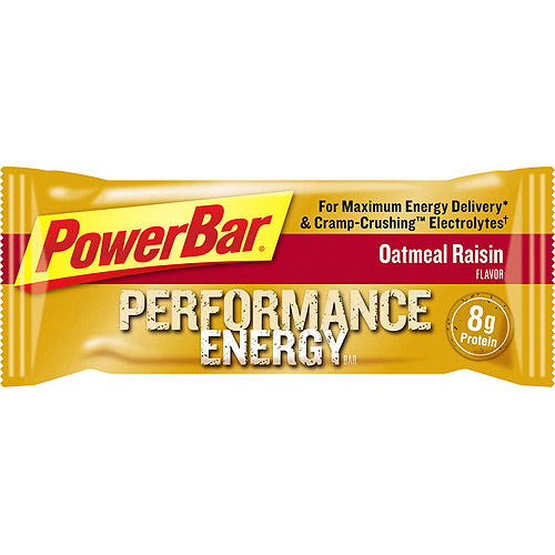 PowerBar Performance Energy, Oatmeal Raisin, 12 count