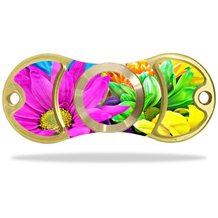 Skin Decal Wrap For Edc Fidget Spinner Hand Toy Amilife Outdoo Colorful Flowers