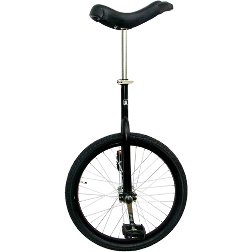 "Matte Black 20"" Unicycle with Alloy Rim"