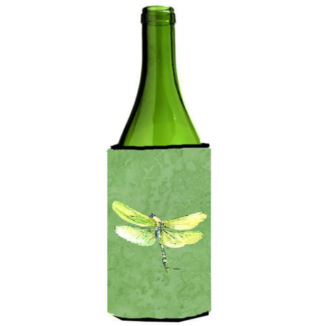 Carolines Treasures 8864LITERK Dragonfly On Avacado Wine bottle sleeve Hugger - 24 oz. - image 1 of 1
