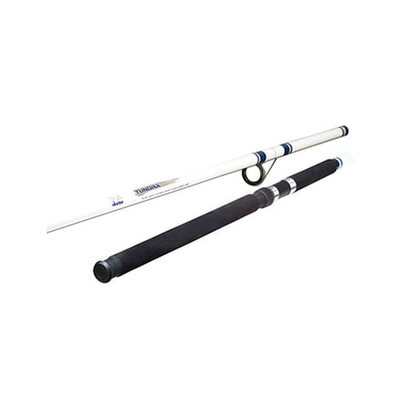 Okuma Tundra Saltwater Spinning Rod 15' Length, 3pc, 10-30 lb Line Rate, 2-8 oz Lure Rate, Medium/Heavy - Action Saltwater Rod