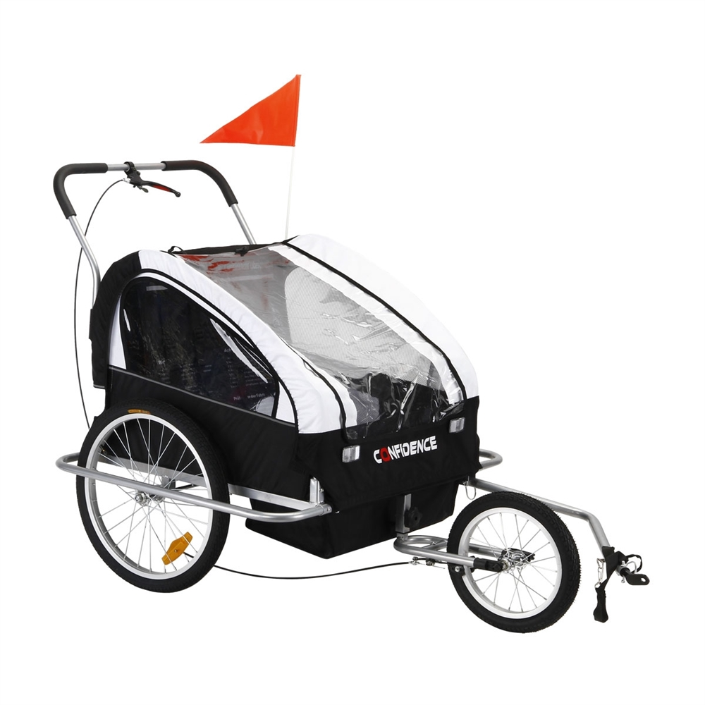 Confidence 2-in-1 Double Baby/Child/Kids Bicycle Bike Tra...
