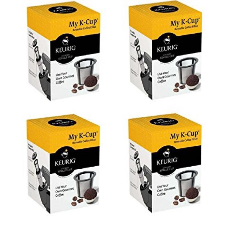KEURIG My K-Cup Reusable Coffee Filter (Brown, 4)