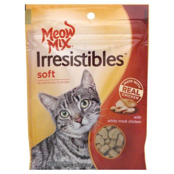 Meow Mix Irresistibles - Soft With White Meat Chicken
