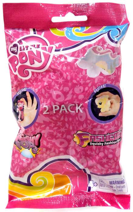 Squishy Pops My little pony Case of 12  free shipping
