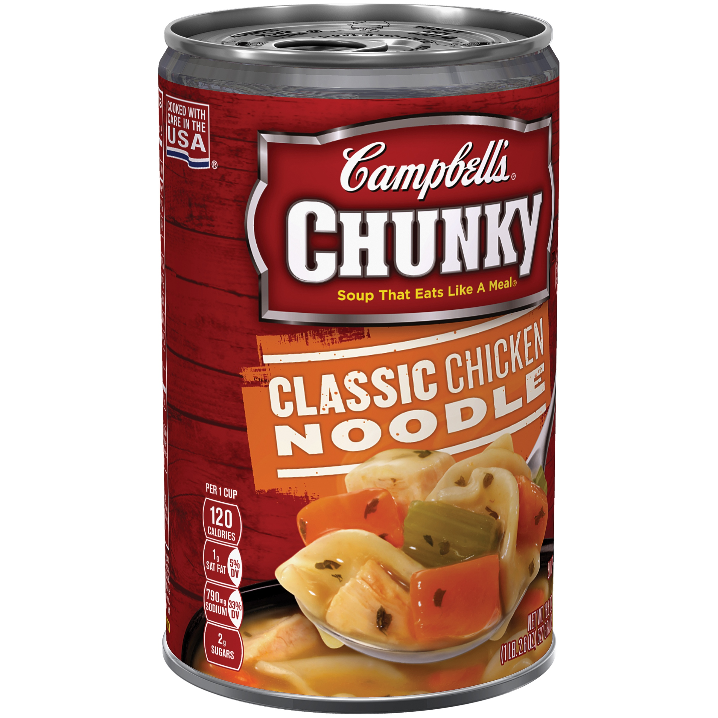 Campbell's Chunky Classic Chicken Noodle Soup 18.6oz by Campbell Soup Company