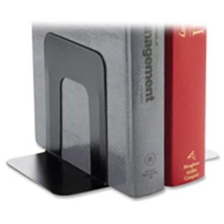 Weighted Base Desktop Organizer - Business Source 42550 Book Supports with Poly Base - 5.3