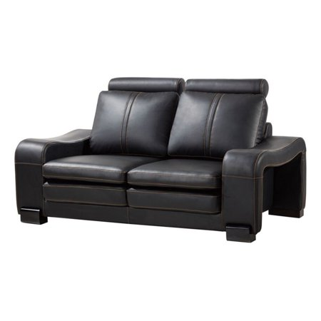American Eagle Furniture Delaware Loveseat With Wheeled Ottoman