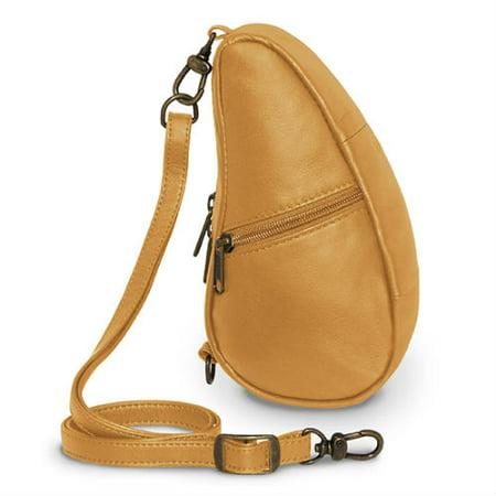 Image of AmeriBag Classic Leather Baglett - Sand AmeriBag Classic Leather Baglett