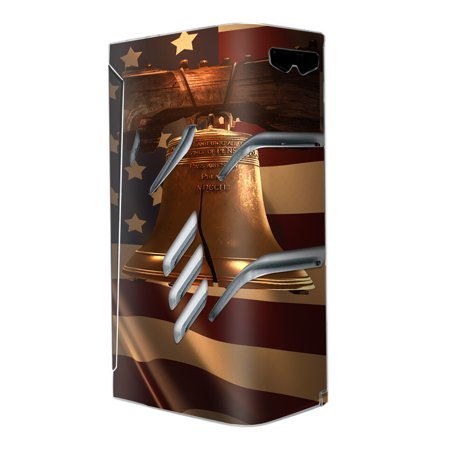 Engraved Liberty Bell (Skins Decals For Smok T-Priv Vape / Liberty Bell And Flag)